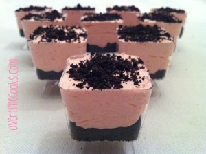 Strawberry Chocolate Cream Cups
