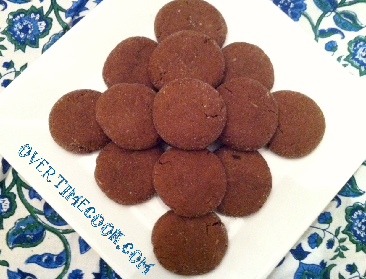 Chocolate Peanut Butter Surprise Cookies - Overtime Cook