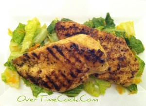 Grilled Mustard Marinated Chicken