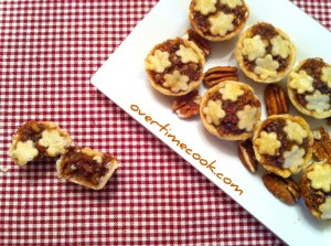Tiny Pecan Pies and a Pie Crust Tutorial