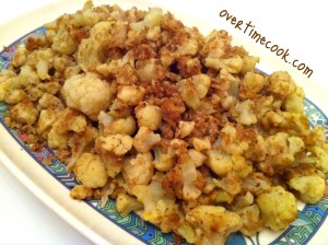 Healthy (Mock) Breaded Cauliflower