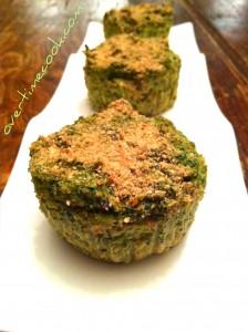 Broccoli Kugel Muffins