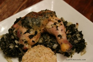Spinach Stuffed Roasted Chicken