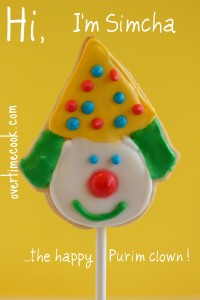 Clown Cookie Pops with a Royal Icing How-To