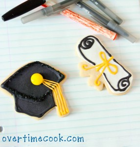 Graduation Cookies {How To}