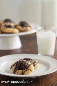 Cookie Dough Thumbprint Cookies and a Cookie Dough Lover's Cookbook Review