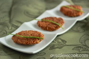 Quinoa Cakes and a review of Herbivoracious