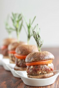 Mushroom Beef Sliders and a Review and Giveaway of CHIC Made Simple