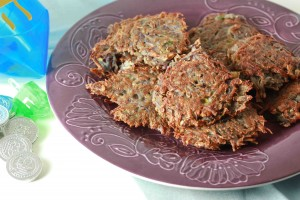 Purple Potato Latkes