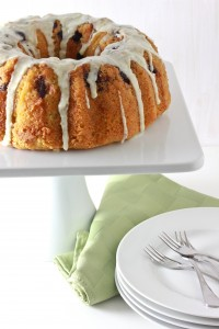 Cherry Lime Bundt Cake