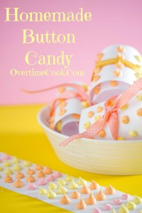 Homemade Button Candy and a Review and Giveaway of Kids Cooking Made Easy