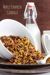 Maple Pumpkin Granola