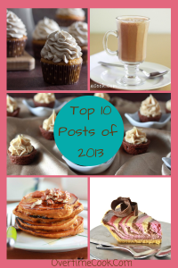 Top Posts of 2013 on Overtime Cook