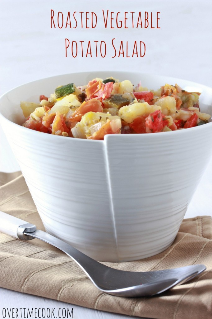 Roasted Vegetable Potato Salad