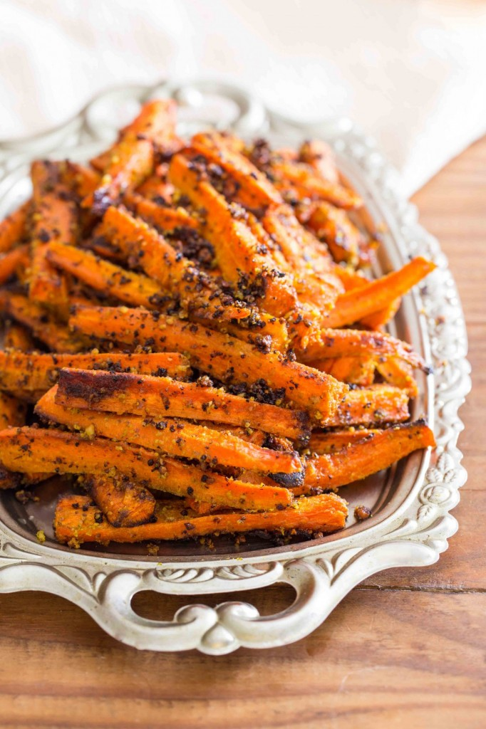 Pesto Roasted Carrot Fries