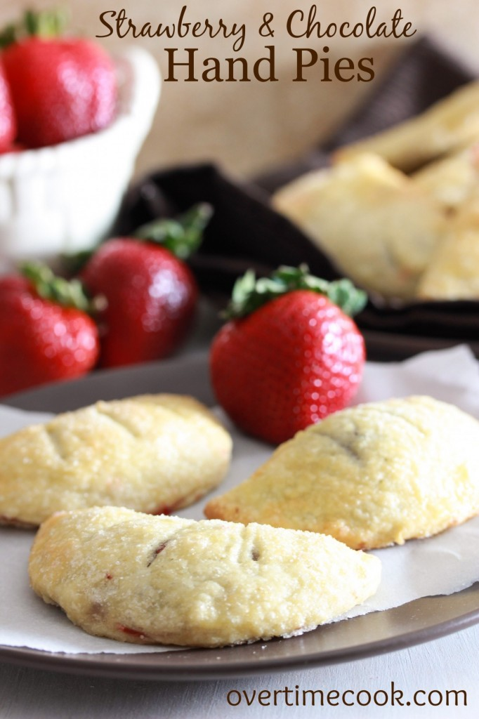 Strawberry Chocolate Hand Pie on on OvertimeCook.com.jpg