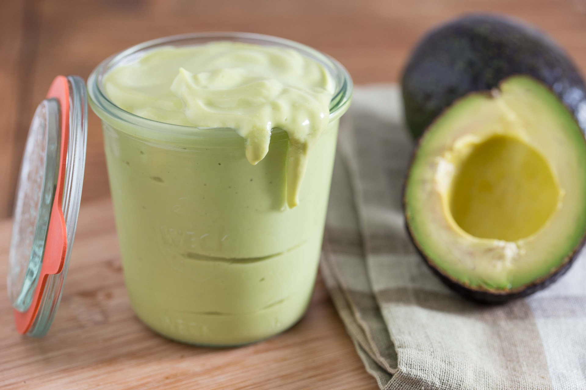 Creamy Avocado Salad Dressing - Overtime Cook