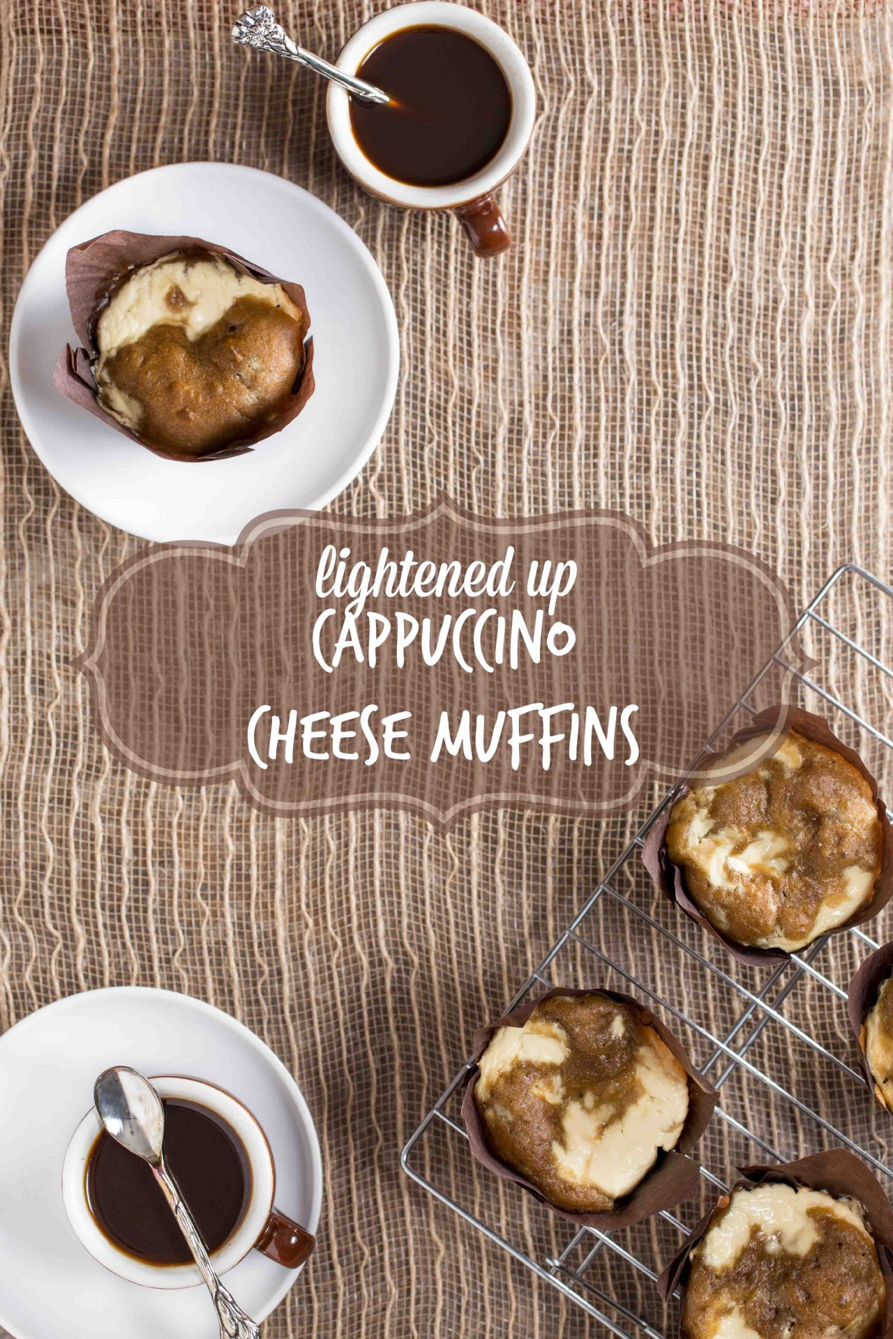 lightened up cappuccino cheese muffins on Overtime Cook