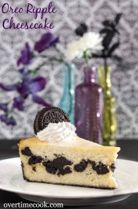 Oreo Ripple Cheesecake