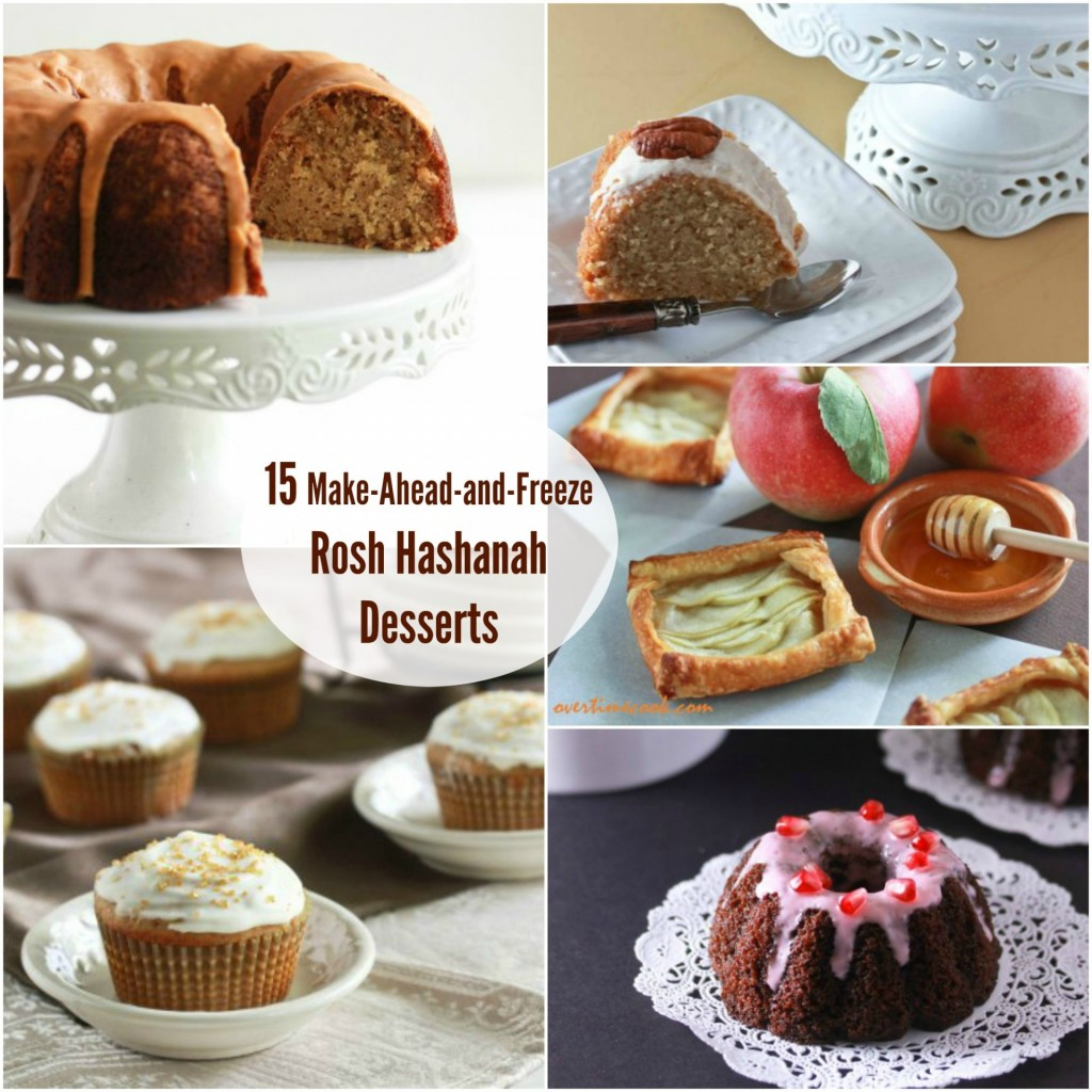 15 Make Ahead and Freeze Rosh Hashanah Desserts