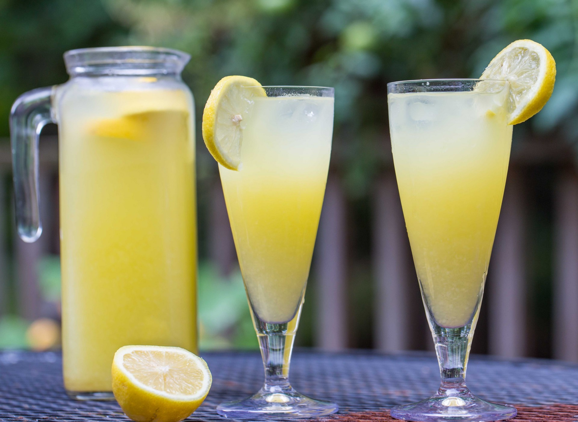 Homemade Mango Lemonade - Overtime Cook