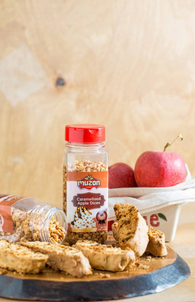 cinnamon apple biscotti