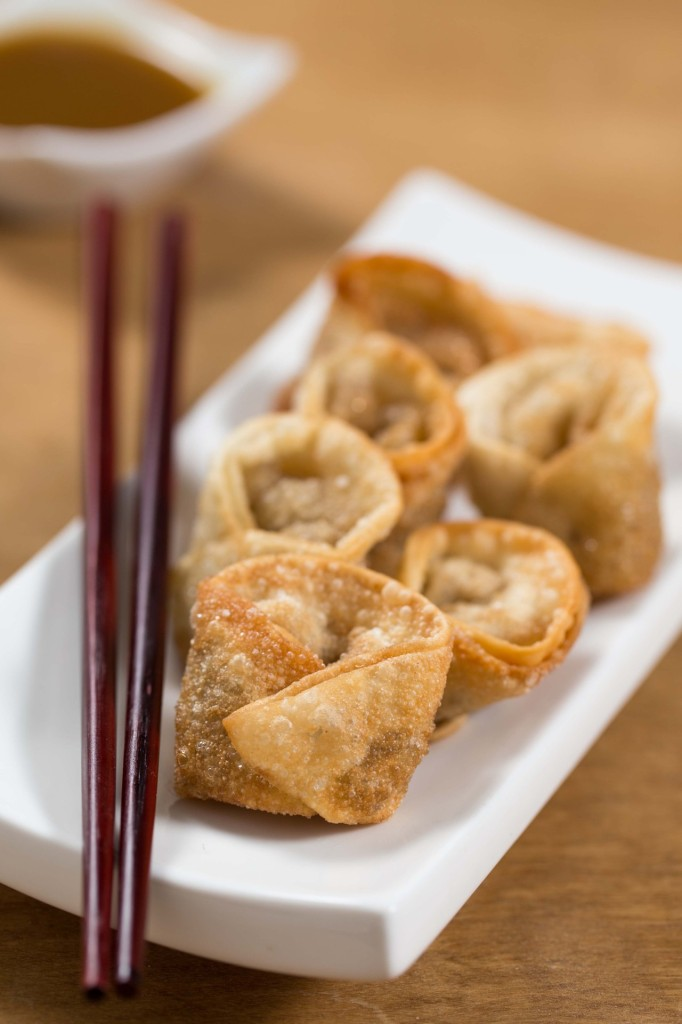 fried cabbage wontons