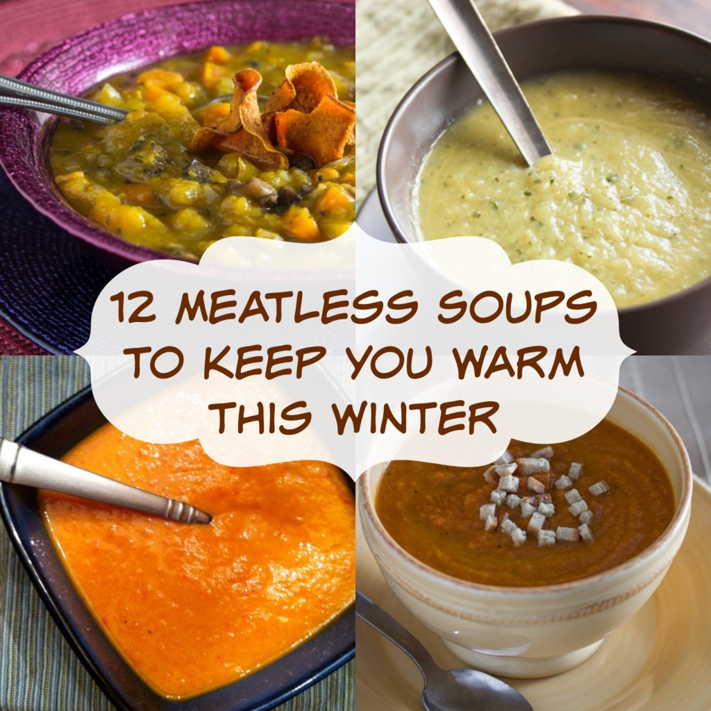 12 meatless soups