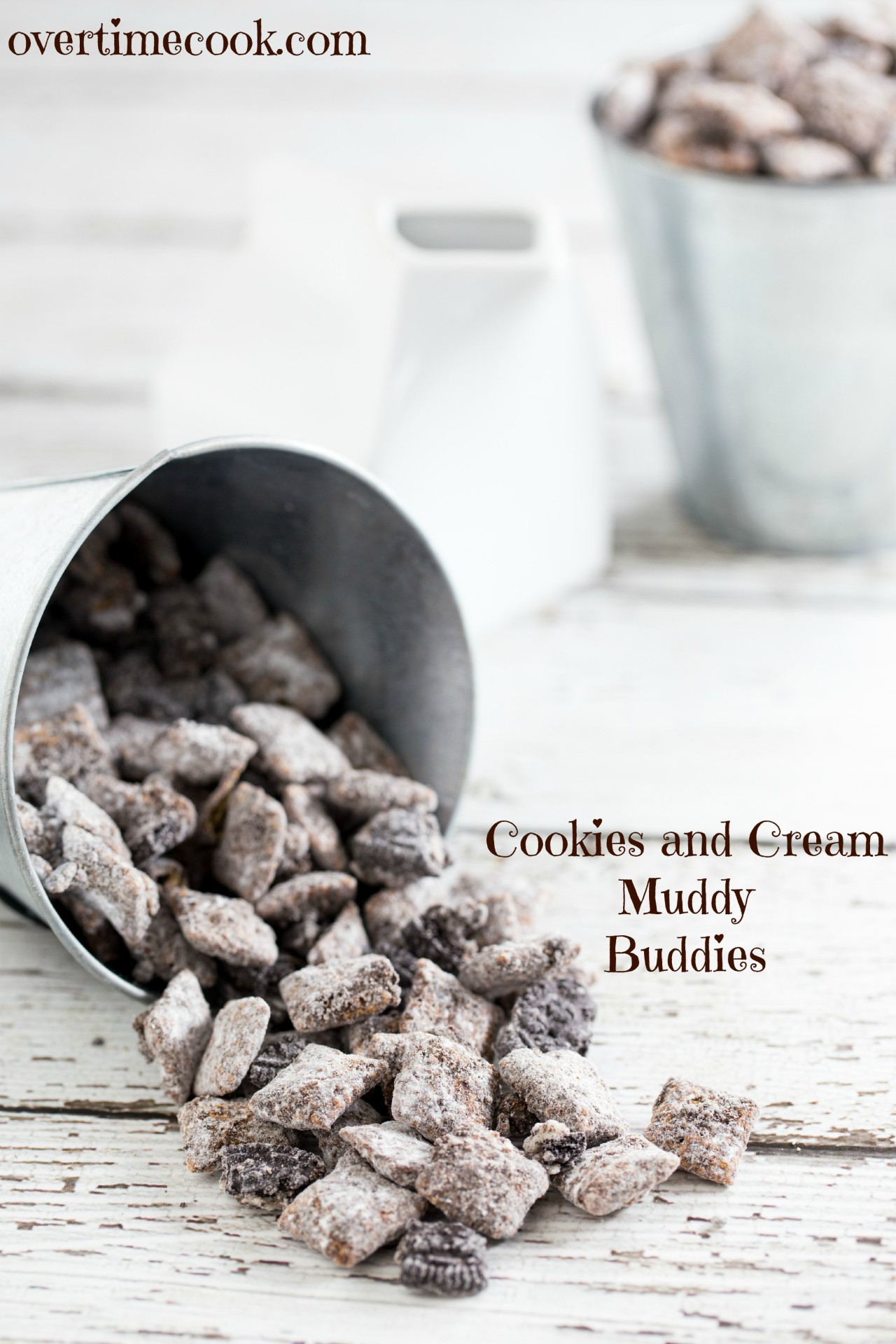 Cookies And Cream Muddy Buddies Overtime Cook