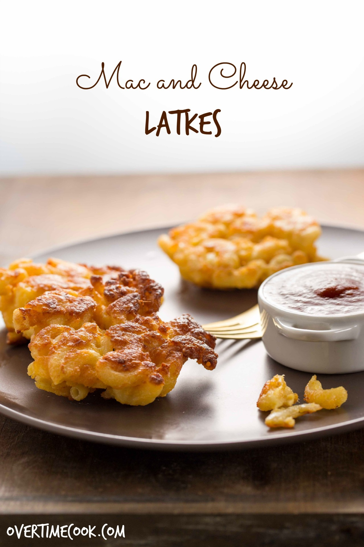 Mac and cheese latkes and a chanukah blog party and double giveaway mac and cheese latkes on overtimecook forumfinder Choice Image