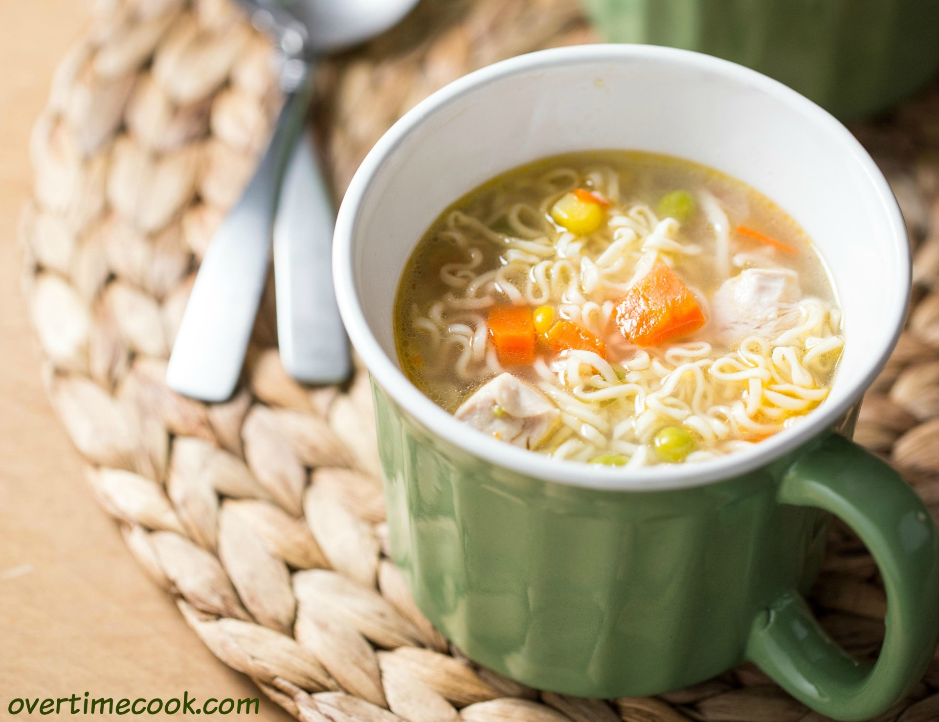 Homemade Instant Chicken Noodle Soup (Guest Post