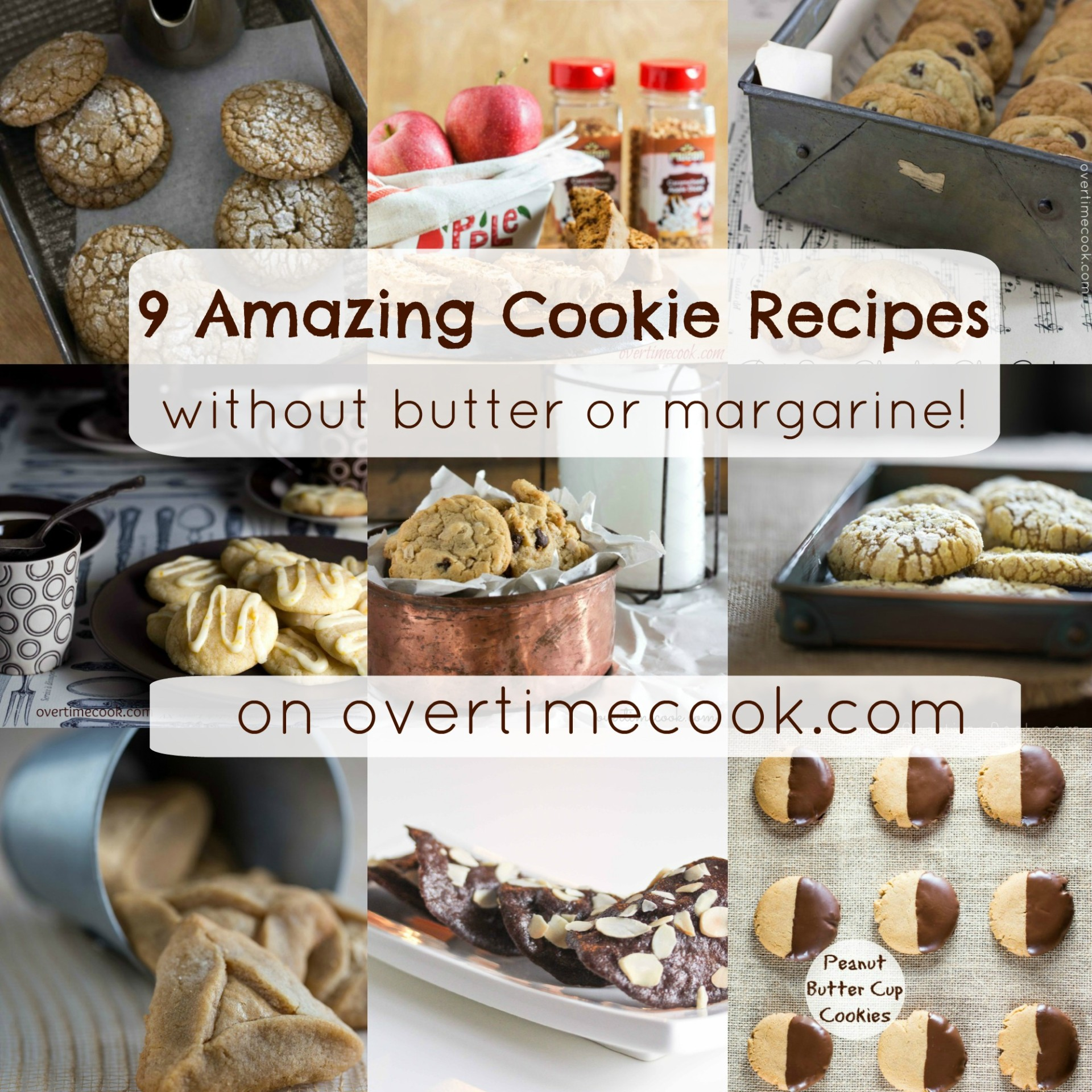 Quick cookie recipes without butter