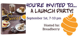 You're Invited To…A Something Sweet Launch Party!