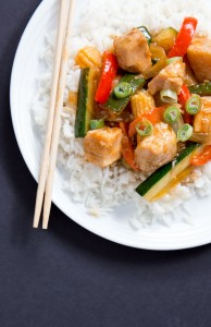 10-Minute Teriyaki Chicken Stir-Fry