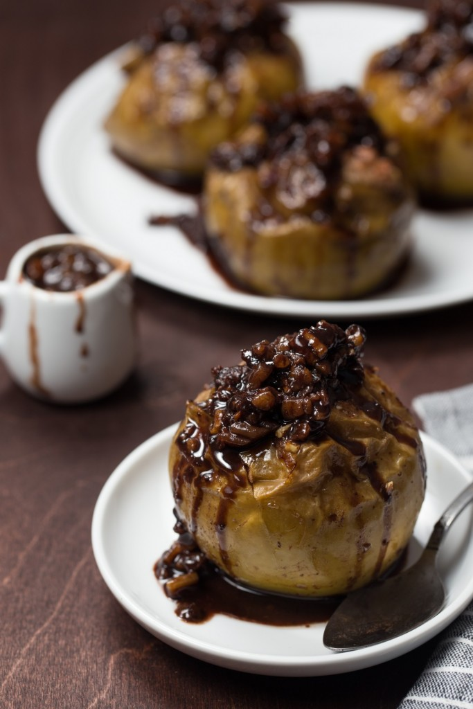 Red Wine Baked Apples