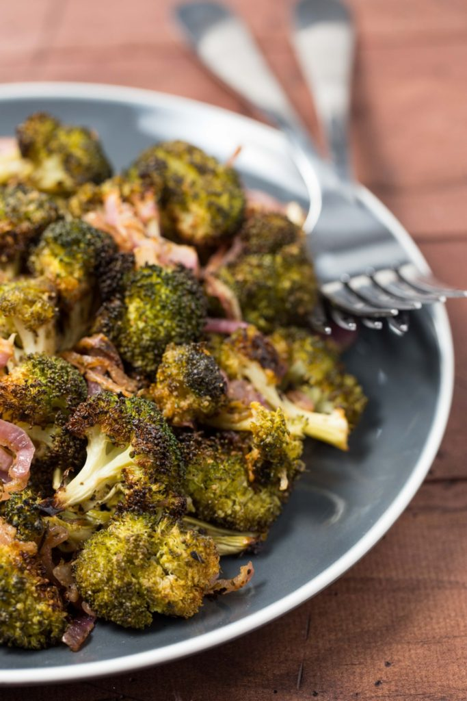 Roasted Broccoli and Red Onion3