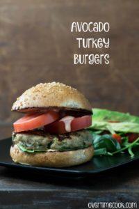 Avocado Turkey Burgers