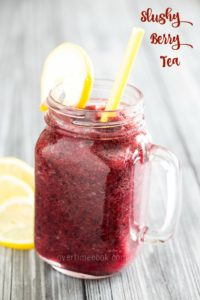 Slushy Berry Tea
