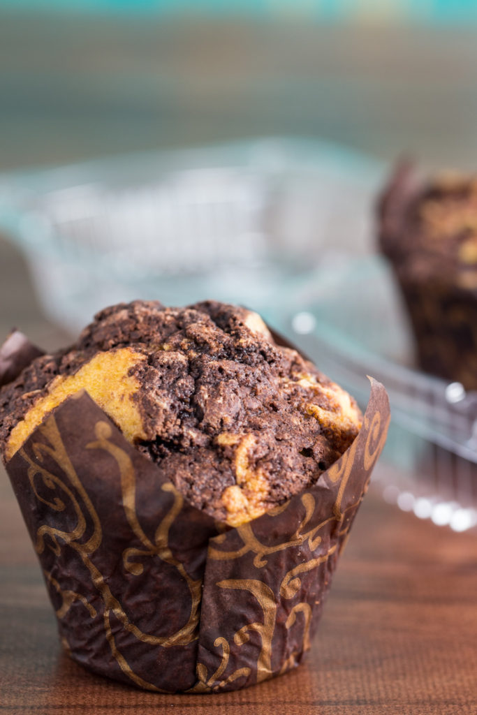 Chocolate Corn Muffins