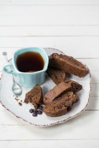 Chocolate Banana Biscotti