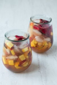 Maple and Summer Fruit Sangria