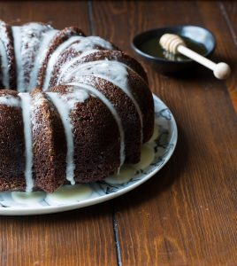 Honey Chocolate Bundt Cake