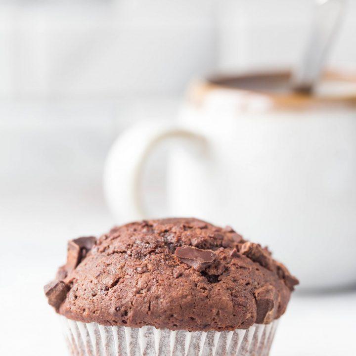 Bakery Style Chocolate Muffins